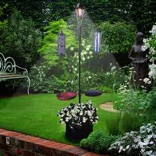 Bird Solar Lights by Bird Feeding Station With Solar Light Bird Feeder U0026 Planter