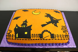 halloween theme cakes halloween themed sheet cakes u2013 festival collections