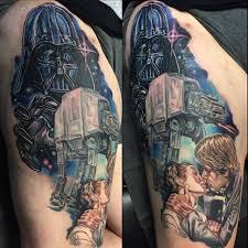 in process star wars leg sleeve tattoo inked by josh bodwell imgur