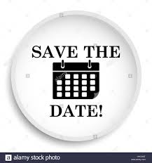 Save The Date Website Save The Date Icon Save The Date Website Button On White