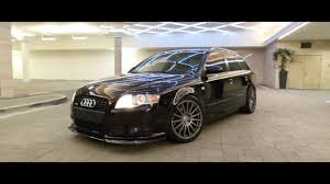 slammed audi wagon audi b7 a4 avant titanium package lowered youtube