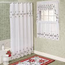 Shower Curtain Clearance Curtains Shower Curtain Clearance New Poinsettia Semi