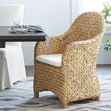 Natural Dining Chair - Woven dining room chairs