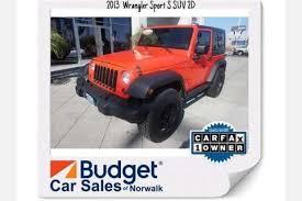 2013 jeep wrangler mileage used jeep wrangler for sale in ca edmunds