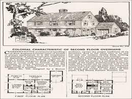 14 dutch colonial house plans detailed blueprints american antique