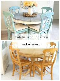 kitchen table refinishing ideas chalk paint for kitchen table kitchen table and chairs painted
