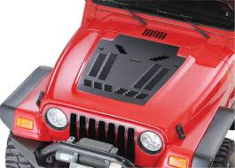 jeep louvers hyline offroad louvered panel for 03 06 jeep wrangler tj