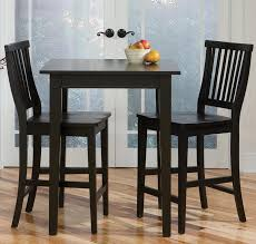 3 piece table and chair set modern bar tables and chairs