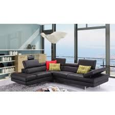 Turquoise Leather Sectional Sofa Modern Living Room Furniture Get Furniture