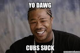 Cubs Suck Meme - image jpg