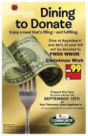 fundraiser for the fm99 wish fund wnor fm99