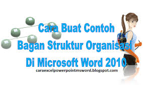 cara membuat struktur organisasi yang menarik cara buat contoh bagan struktur organisasi di microsoft word 2010