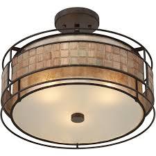 Quoizel Flush Mount Ceiling Light Quoizel Mc842src Semi Flush Renaissance Copper