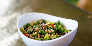 quinoa cuisine quinoa salad with kale pine nuts and parmesan recipe epicurious com