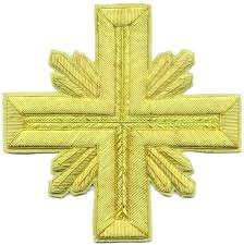 church crosses byzantine liturgical embroidered gold silver bullion