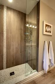 Bathroom Mosaic Tiles Ideas by Best 25 Wood Tile Shower Ideas Only On Pinterest Large Style