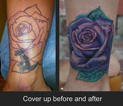 rose cover up tattoo by jamie lee parker tattoonow