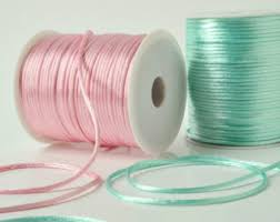 rattail cord satin rat cord ribbon knot 2mm 200 yards from