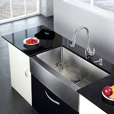 decorating white kitchen cabinets with vigo sinks and black