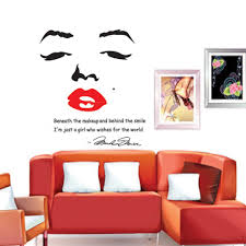 marilyn monroe stickers for walls home design ideas diy wall wallpaper stickers portrait of marilyn monroe art decor mural home decorations 3d sticker h11582