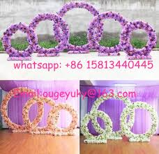 Wedding Arch For Sale Large Flower Arch Round Shape Metal Wedding Arch For Outdoor