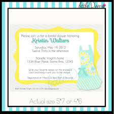 kitchen tea party invitation ideas templates lovely bridal shower invitation wording for a tea