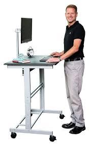 walmart stand up desk standup computer desk adjustable standing desk from steel pipe
