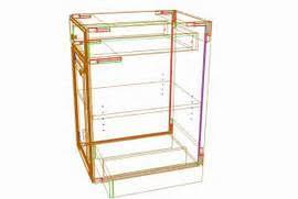 Kitchen Cabinets Carcass by Kitchen Cabinet Construction Plans Pdf Free Kitchen Cabi Plan