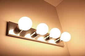Bathroom Vanity Light Bulbs G30 Led Vanity Bulb W High Cri 45 Watt Equivalent Dimmable