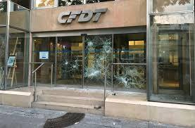 la cgt condamne l attaque du siège de la cfdt l humanité