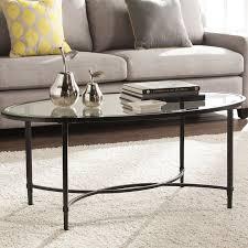 charlton home sherrodsville metal glass coffee table u0026 reviews