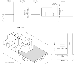 what is a split floor plan booth display types u0026 regulations namm org