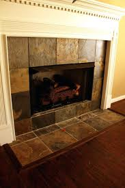 modern tiled fireplace surround ideas stone choices installation