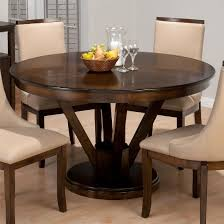 Round Pedestal Dining Tables 50 Round Dining Table Design Ideas Ultimate Home Ideas