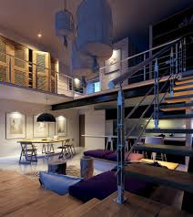 Lofted Luxury Design Ideas Home Designs Industrial Staircase Design Lofted Luxury