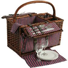 picnic basket set for 2 royal trading company the home of gifts and collectibles