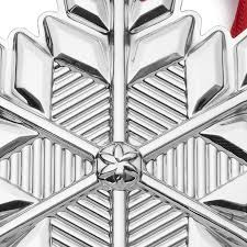 gorham silver snowflake 2017 gorham silver ornament