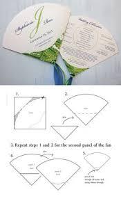 Paper Fan Wedding Programs Free Printable Church Fan Templates Bing Afbeeldingen Paper