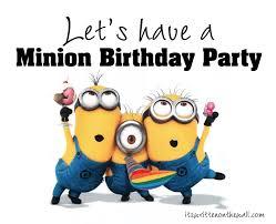 minions birthday party it s written on the wall despicable me minions birthday party