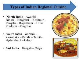 types of indian cuisine presentation on indian cuisine