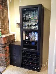Besta Ikea Hack by Besta Wine Rack And Liquor Cabinet Ikea Hackers Bloglovin U0027
