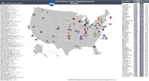 Scsu Map March 2013 Billsportsmaps Com