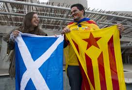barcelona fans allowed to fly catalan independence flags at