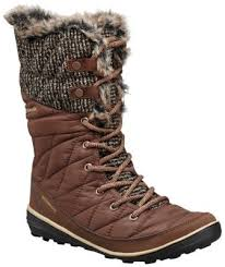 womens knit boots columbia s heavenly omni heat knit insulated waterproof