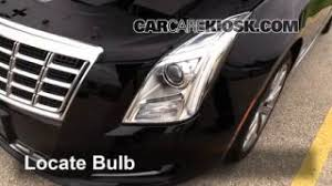 cadillac xts replacement parking light change 2013 2016 cadillac xts 2013 cadillac xts