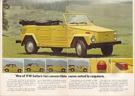 1974 volkswagen thing thesamba com vw archives 1974 vw thing sales brochure mexico