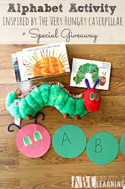 73 best the very hungry caterpillar images on pinterest book alphabet activity inspired by the very hungry caterpillar giveaway
