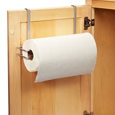 cabinet paper towel holder polytherm over the cabinet paper towel holder the container store