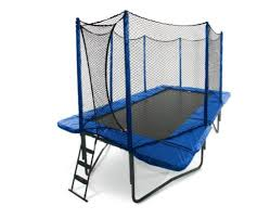 best rectangular trampoline with enclosure reviewed u0026 tested in 2017