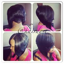 bob quickweave with tapered back my work pinterest bobs